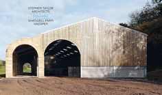 Shatwell Farm Cowshed by Stephen Taylor Architects - no, really that is the name of the farm, and it really is a cow shed