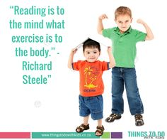 Inspirational Parenting Quote | Importance of reading | reading with kids