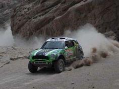 Mini All4 Stephane Peterhansel- Dakar 2012