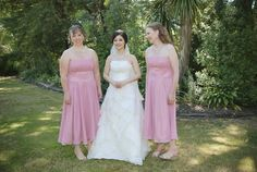 Pei-Ying Pan looking fabulous with her bridesmaids. The bridesmaid dresses were tailor-made by OuterInner.com. You can get the dress just the way you prefer! Bridemaid dress (US$59). Style code: 08087. Get it here: http://www.outerinner.com/strapless-dress-with-ruched-waistband-pd-08087-12.html. Visit our web site: www.outerinner.com #bridesmaiddresses #bridemaid #weddingdresses #outerinner #straplessdress