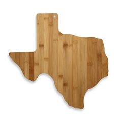 Totally Bamboo Texas State Shaped Cutting/Serving Board - BedBathandBeyond.com