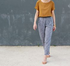 Joliesbobines - Alexandria Peg Trousers & Inari Crop Tee