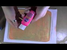 ▶ Making A Homemade Permanent Gelli Plate - YouTube