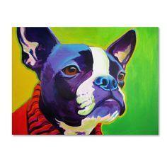 DawgArt 'Ridley' Canvas Art - Overstock™ Shopping - Top Rated Trademark Fine Art Canvas