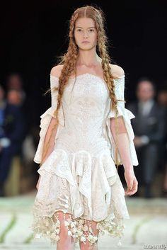 Would love to attend a Alexander McQueen fashion show.