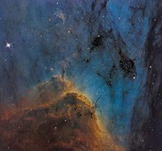 Pelican Nebula Close-up