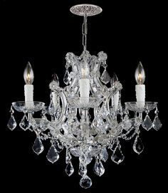 6 Lights Crystal Candle Chandelier Draped - http://chandelierspot.com/6-lights-crystal-candle-chandelier-draped-545314356/