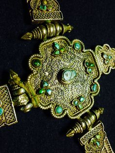 Tibetan silver belt. Private collection