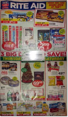 447c8d32ac1f Rite Aid Black Friday 2012 Deals have been released. Take a look at the  Rite Aid Black Friday 2012 ad scan in order to get a head start on your  shopping!