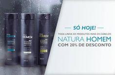 Rede Natura Maria Berlofa: Natura Homem para cabelos, só hoje, com 20% de des...