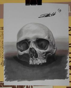 Skull with ProMarker
