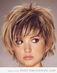 Short Choppy Hairstyles with Bangs | Short Choppy Layered Bob Haircuts | Short Haircuts Styles | New Best ...
