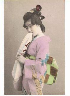 POSTCARD-CARTE-POSTALE-GEISHA-MAIKO-JAPONAISE-JAPON-47