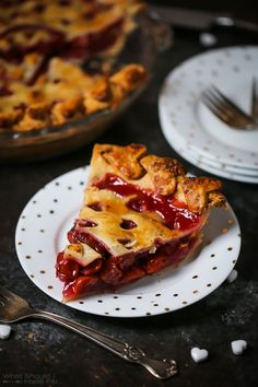 """The band Warrant said it best, this cherry pie """"tastes so good it will make a grown man cry""""!"""