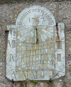 Latin Proverbs and Fables Round-Up: September 28 September 28, Space Time, Sundial, Compass, Latina, Clocks, Solar, Live, Studio