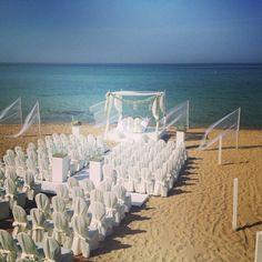 beach wedding in  puglia salento by masseria torre coccaro