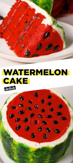 This Watermelon Cake