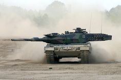 Leopard 2 Main Battle Tank, Germany  The crew compartment is equipped with a fire and explosion detection and suppression system which has been licensed by Deugra Ges
