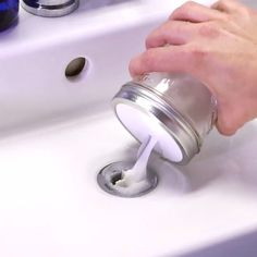 Clogged Sink Fix It In No Time With This DIY DrainO is part of Diy household cleaners No need for scary chemicals - Household Cleaners, Diy Cleaners, Cleaners Homemade, Homemade Drain Cleaner, Household Tips, Limpieza Natural, Clean Freak, Simple Life Hacks, Household Cleaning Tips