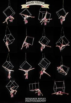 Getting some inspiration! Aerial Cube. Also an excellent study of body shape and line for performance.