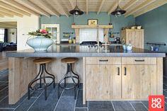 Landelijke houten keuken | keuken design | kitchen | Hoog.design