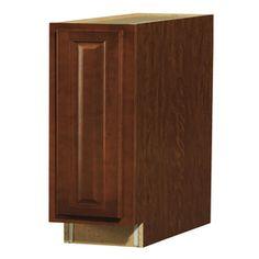 kitchen kompact glenwood 9t beech base cabinet  cheyenne value choice 9   erie birch standard 1 door base cabinet   kitchen      rh   pinterest com