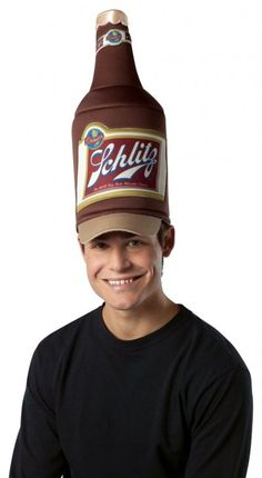 Funny Beer Hat Costume