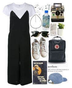 aesthete by black-tides on Polyvore featuring polyvore, fashion, style, RE/DONE, Le Ciel Bleu, adidas, Fjällräven, Ray-Ban, éS and clothing
