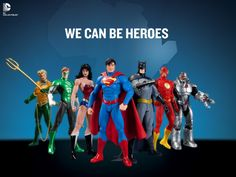 New JLA action figures from DC Collectibles™