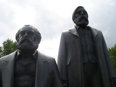Karl Marx und Friedrich Engels - Berlin