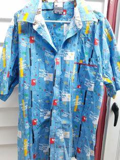 RV Shirt 2XL Hawaiian Style Diamonds Dollar Signs Skulls Revirth of a Victory  #RV #ButtonFront