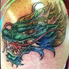 hd head dragon tattoo