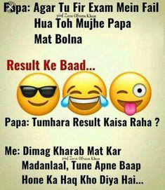 Zara afreen khan ❤ funny school jokes, jokes in hindi, funny quotes in hindi Very Funny Memes, Funny School Jokes, Best Funny Jokes, Funny Facts, School Humor, School Quotes, Hilarious, Funny Quotes In Hindi, Cute Funny Quotes