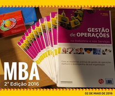Estamos a preparar os materiais para enviar aos novos formandos do MBA em Gestão de Operações (2ª Edição). Começa a 02 de Maio na modalidade elearning).  http://www.cltservices.net/index.php/formacao/formacao-a-distancia-b-elearning/gestao-de-operacoes