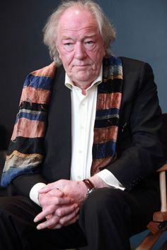 """Michael Gambon Photos Photos: The Apple Store Soho Presents Meet The Filmmakers: """"Harry Potter And The Deathly Hallows"""" Actors Male, Actors & Actresses, Tom Courtenay, Presumed Innocent, Michael Gambon, Character Bank, Harry Potter Actors, Family Events, Movie Collection"""