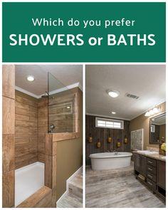 Mobile Home Insurance, Mobile Homes, Modular Homes, Walk In Shower, Master Bathroom, Baths, Showers, Innovation, House Design