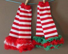 Christmas leggings, First Christmas, Cool Legwarmers, Christmas Legwarmers, Baby picture outfit, Legwarmers, Baby Leggins, Toddler Leggings
