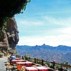 Artenara, highest village in Gran Canaria