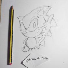 Sega Cd, Cross My Fingers, Classic Sonic, New Tablets, Art Daily, The Hobbit, Insta Art, Colouring, Sonic The Hedgehog
