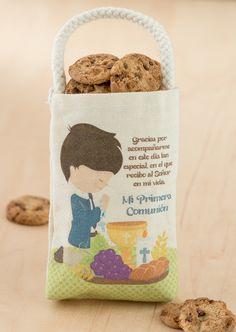 Bolsas de Lona Primera Comunión de Niño - http://tiendamydesign.com/panama/bolsas-de-lona-primera-comunion-de-nino