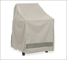 universal outdoor bistro chair cover khaki outdoor furniture