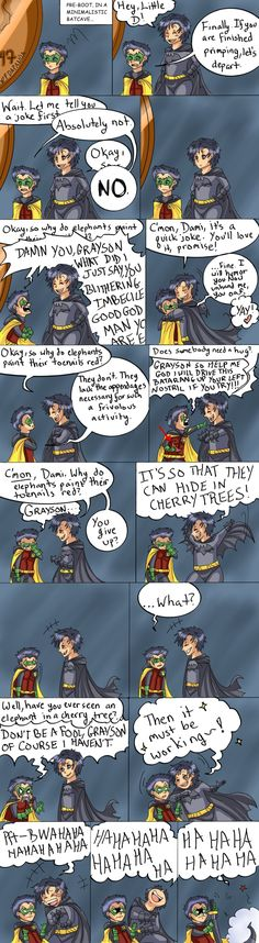 found this on deviantart I actually liked the joke :D And the last panel