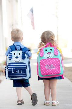 56 Best Back to School 2018 - Monogrammed Backpacks 7c3f218d9322c