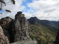 View from the Ruined Castle, Blue Mountains, NSW