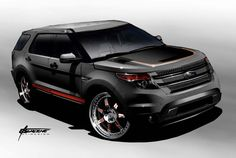2017 Ford Explorer Redesign and Powertrain