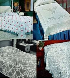 Classic Vintage Bedspreads to Crochet (amazon link)
