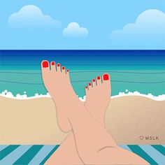 New trending GIF tagged water summer beach ocean waves...