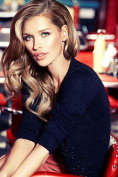 Joanna Krupa-love this hair color.
