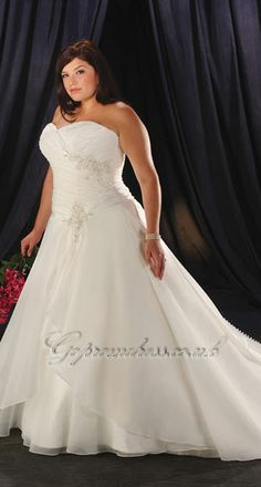 plus size wedding dress 2013 I am about 80% positive this is my cotillion dress but I'll add it anyway
