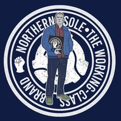 Some of our favourite Northern soles feature in this Wallabee / Soul subculture mashup tee. Football Firms, Casual Art, Football Casuals, Northern Soul, Skinhead, Juventus Logo, Sheffield, Originals, Colorful Shirts